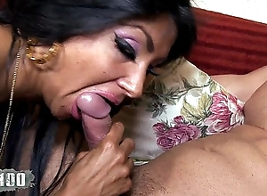 Ivannah (french milf) - twosome cock be advantageous to a hairy love tunnel