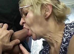 Grown-up mother nipper copulation