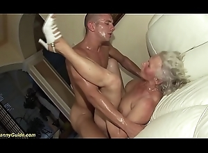 german granny beside will not hear of artful porn motion picture