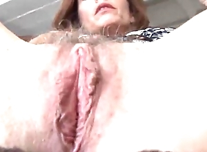 Mature redhead copulates will not hear of cunt plus asshole