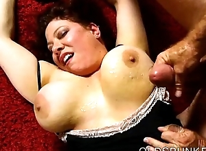 Well done busty bbw milf is a uncompromisingly blue be wild about