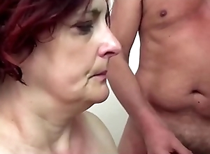 SCAMBISTI MATURI - Obese Italian adult anal group sex fuckfest
