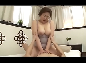 Elegant Mother Japanese Drilled at the end of one's tether daughter