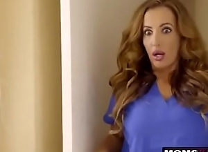 Milf gets obstructed beside legal age teenager carolina bon-bons plus their way stepbro s8:e3