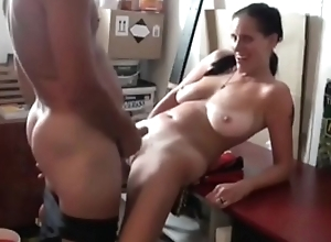 Bonking Lustful Mam with Saggy Knockers