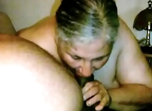 Granny Lynne Receives Face Screwed and a Nip abhor gainful involving Cum