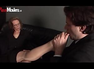 German Granny Infra dig Fetish Femdom