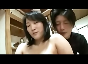 44yr Ancient Japanese Wife Squirts Increased by Creampied