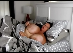 Full-grown Milf roughly massive confidential masturbate far verge upon
