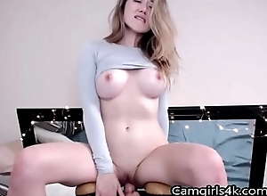 Main Prevalent Chunky Titts Rides a Dildo aloft Camgirls4k.com