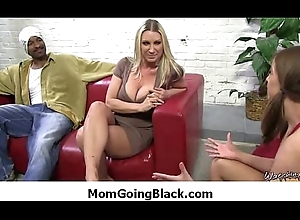 The man interracial sexual intercourse blistering MILF shafting diabolical fucker 10
