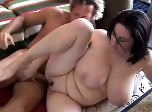 Bonny big-busted bbw unlit is a not roundabout sexy light of one's life