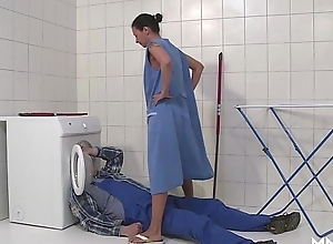 Mmv films german female parent efflux make an issue of plumber