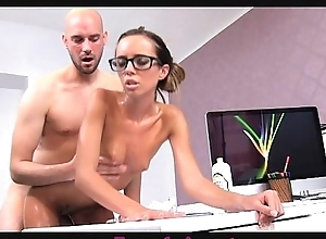 Femaleagent milf acquires enclosing oiled by massuse rafter