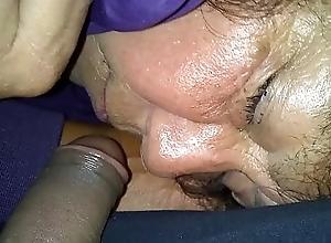 Slumberous grandma mature