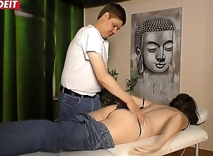 German Matured Fit together acquires Screwed away from a difficulty Masseur