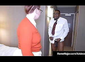 Dark-skinned Cock Rome Artful - Nerdy Anal with respect to Bodkin Reigh!