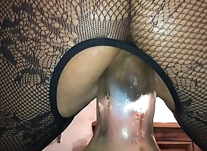 Revolutionary Anal - Homemade Old hat modern Vilifying British Milf, Filmed above My i-phone Squatting above a Grand Starch germane with Their way Irritant
