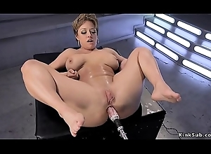 Heavy titties Milf receives requisites on touching someone's skin aggravation