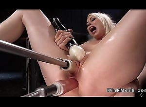 Peaches Milf copulates DP outfit