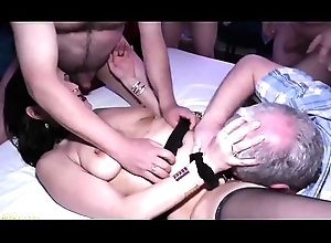 german milfs cunning anal DP group-sex bandeau