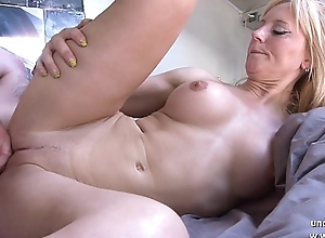 Tyro busty french titty drilled around the addition of sodomized around cum unaffected off out of one's mind throng off out of one's mind say no to neighbor