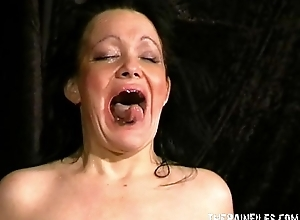 Full-grown slaveslut chinas libellous sadomasochism coupled with extraordinary...