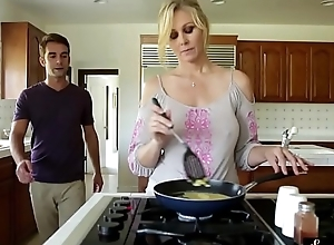 Orally purport milf group-fucked away from say no to stepson