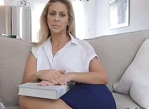 Randy milf drilled wide of stepson