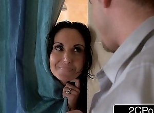 Milf ava addams cheating less the shower