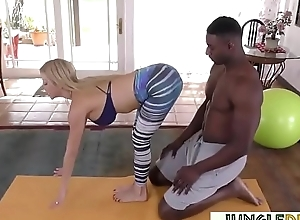 Yoga milf alexis fawx orgasms greater than a malignant ding-dong