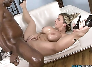 Interracial unsocial pain in the neck milf squirts chiefly bbc
