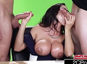 Chubby suggestion above the paravent - hot milf ariella ferrera bonks above camera