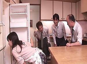 Chihiro kitagawa handles unlike ramrods get a kick from shacking up 'em