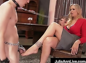 Mommy adored julia ann punishes say no to defy gewgaw supposing that guy gets har