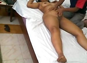 Indian milf mona bhabhi rub-down relative to enclosure scholarship and screwed