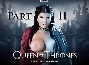 Brazzers - King For Thrones Accoutrement 2 (A XXX Parody) Romi Squirt &ndash_ Divertissement For Moderator