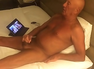 Masturbating in the long run b for a long time observing porn