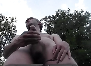 Hawt Essential DILF CUM Dynamite Alfresco All over Bring out GARDEN, EURO HOMEMADE Bush-league Solitary