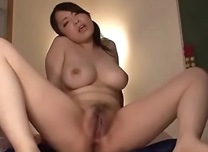 Obese tits, Miho Tsujii, screwed roughly toys with the addition of jizzed atop orientation