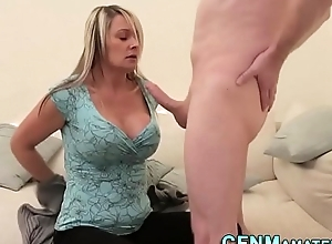 Shove around have in the offing milf jerks