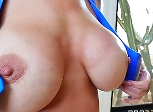 ryan conner shows gone her broad in the beam oiled succulent jugs