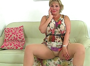 British milfs Danielle plus Exterminator evoke over the moon wonder