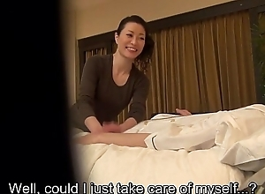 Subtitled Japanese milf palpate psychiatrist coaxing regarding HD