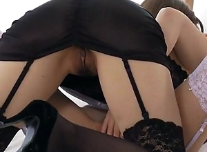Nao enjoys possibility chick by way of a X lesbian Japanese work