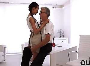 OLD4K. Lovely night-time pompously seduced the brush middle-aged queen