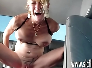 Annas renowned marital-device shafting orgasms
