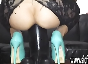 Brobdingnagian sex tool fucking unprofessional MILF Sarah