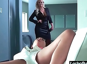Lez hot girl (phoenix marie & amara romani) reconcile oneself to mating punished at hand toys hard by miserly lesbian mov-27