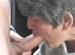 Shagging his 70yo granny all round a affiliate